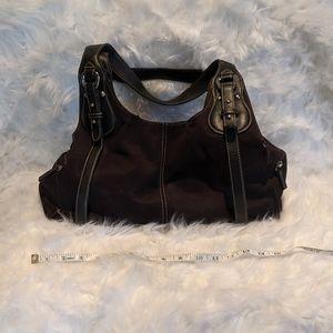 St John's Bay suede shoulder bag